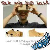 """สุดยอดสินค้า!! """"ส่งฟรี KERRY""""แว่น 3 มิติ DIY Google Card Board"""