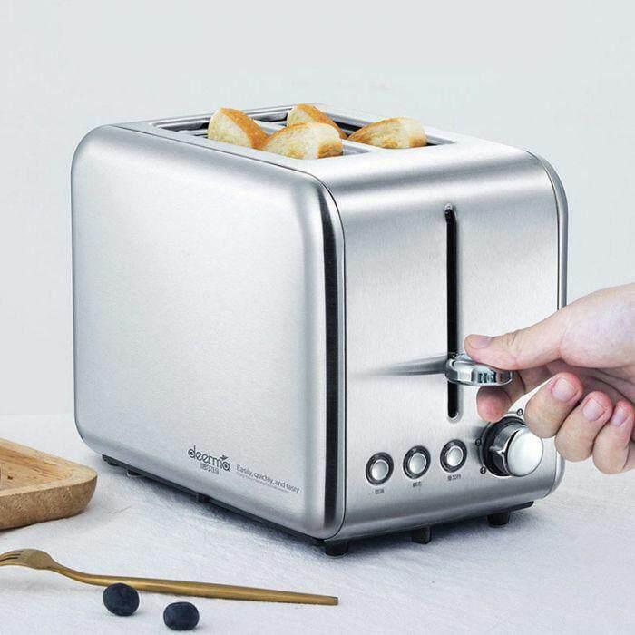 ยี่ห้อนี้ดีไหม  ปราจีนบุรี Xiaomi Deerma เครื่องปิ้งขนมปัง DEM-SL281 Toaster Scented Bread Baking Machine Bread Roaster เครื่องปิ้งขนมปังอัจฉริยะ อบแซนวิชได้