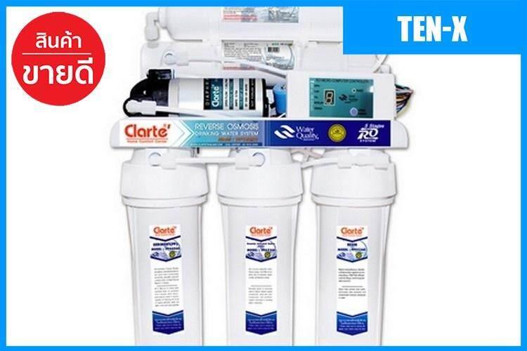 ขายดีมาก! Ten-X เครื่องกรองน้ำดื่ม CLARTE WP192RO  CLARTE  WP192RO เครื่องกรองน้ำ water purifier เก็บเงินปลายทางได้ ส่งด่วน Kerry