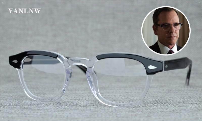เก็บเงินปลายทางได้ แว่นสายตา MOSCOT LEMTOSH COL.BLACK CRYSTAL CE ขนาด 49-24 145 mm. สีดำ-ใส แว่นสายตาสไตล์วินเทจ สุดคลาสสิค พร้อมกล่องอุปกรณ์ครบเซ็ต สามารถนำไปตัดเลนส์สายตาได้ จัดส่ง Kerry มีบริการเก็บเงินปลายทาง