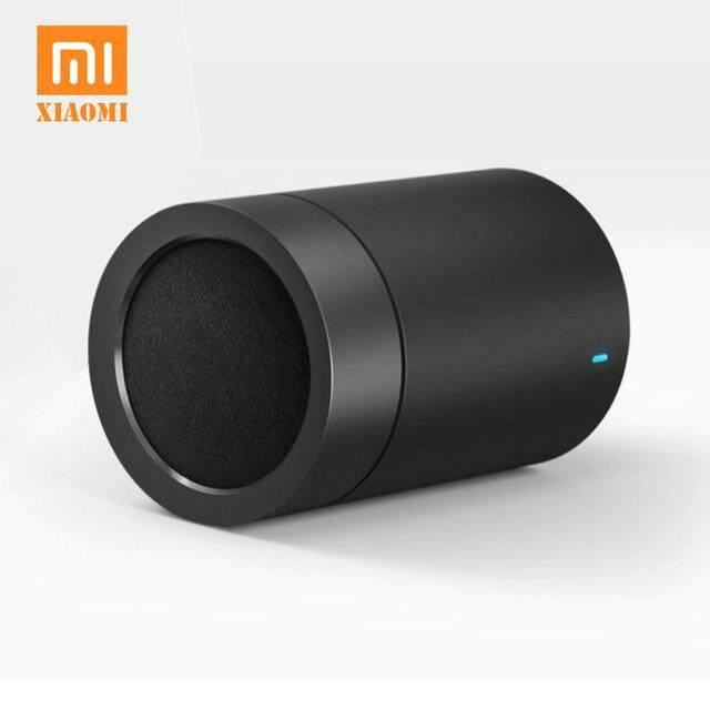 ยี่ห้อนี้ดีไหม  เชียงใหม่ Xiaomi Bluetooth Speaker ลำโพงบลูทูธไร้สายทรงกระบอก Cylindrical Metallic Wireless Bluetooth Speaker 4.1