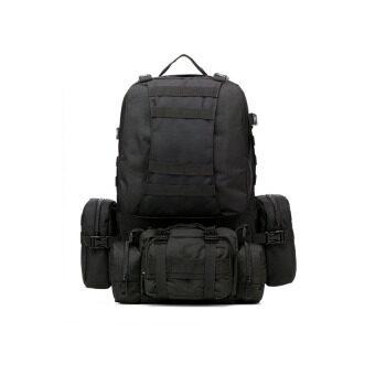 กระเป๋าเดินป่า เป้แบ็คแพ็ค ออกทริป เป้แม่ลูก 4 in 1 (สีดำ)