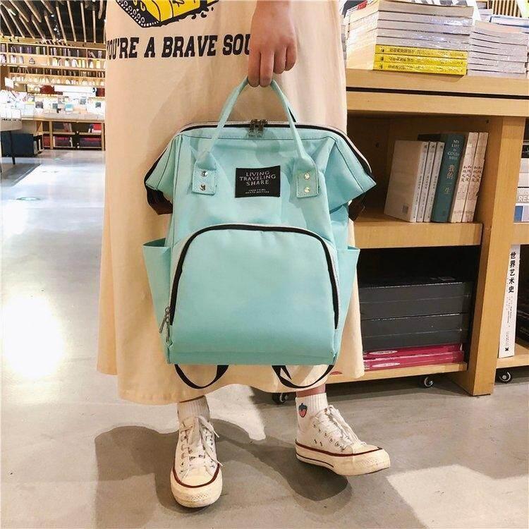 กระเป๋าถือ นักเรียน ผู้หญิง วัยรุ่น สงขลา PANDA SHOP กระเป๋าเป้สะพายหลังสุดความคลาสสิก สีสันสดใส PDF05