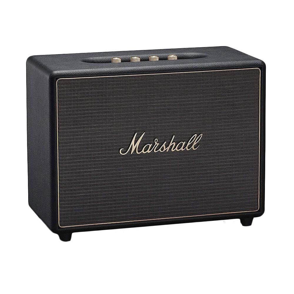 ยี่ห้อไหนดี  SPEAKER (ลำโพงบลูทูธ) MARSHALL WOBURN MULTI-ROOM (BLACK) ส่งฟรี บริการเก็บเงินปลายทาง #speaker #bluetoothspeaker #ลำโพง #ลำโพงบลูทูธ #Marshall