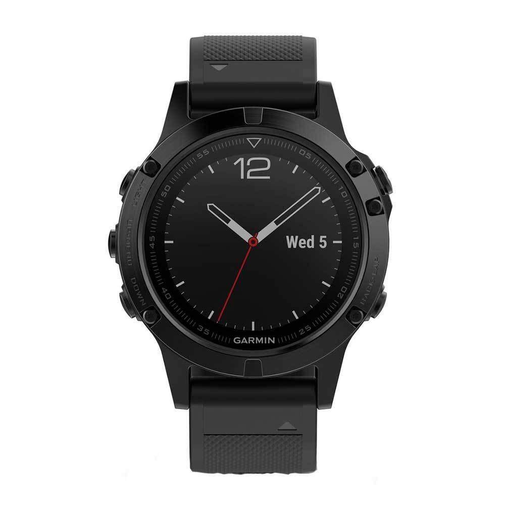 ยี่ห้อไหนดี  นครพนม Garmin Fenix 5 GM-010-01688-60 Smart Digital Black Stainless Steel Unisex