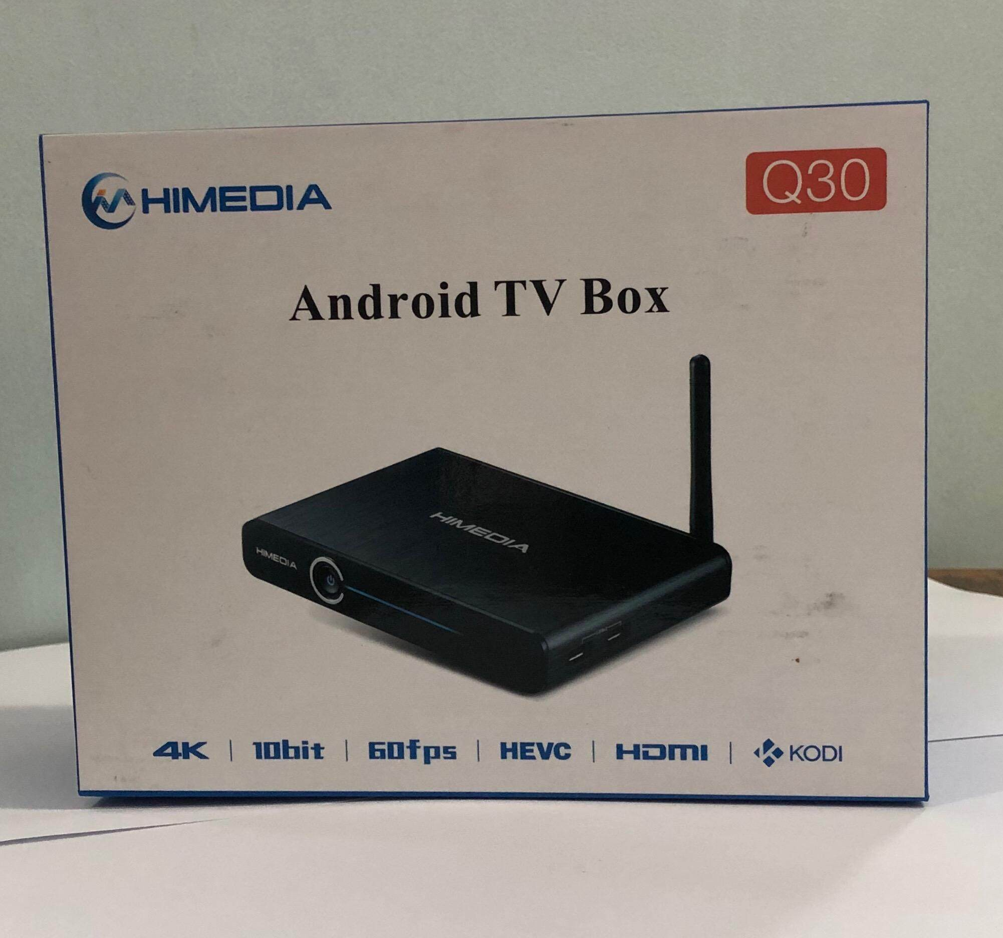 ชัยนาท HIMEDIA Q30 Quad core Android  TV Box 2GB/8GB USB 3.0 (Black)