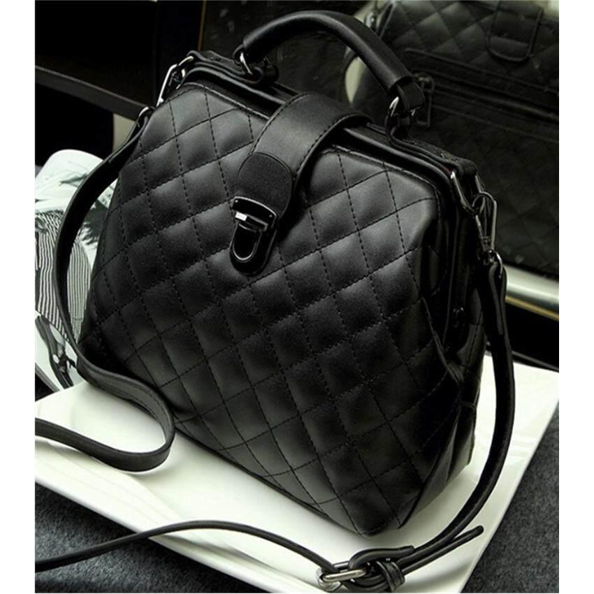 กระเป๋าถือ นักเรียน ผู้หญิง วัยรุ่น ลำพูน Crvid Women Handbag Top handle Bags Travel Beg Sling Tote Shoulder Bag Handbeg PU Leather Messenger Bags