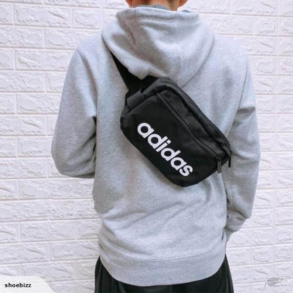 All Day Glam ลิขสิทธิ์แท้100% Adidas กระเป๋า คาดอก/คาดเอว อาดิดาส Chest/Belt Bag Original สะพายได้หลายแบบ กะทัดรัด ของแท้ 100% ส่งไวด้วย kerry!!!