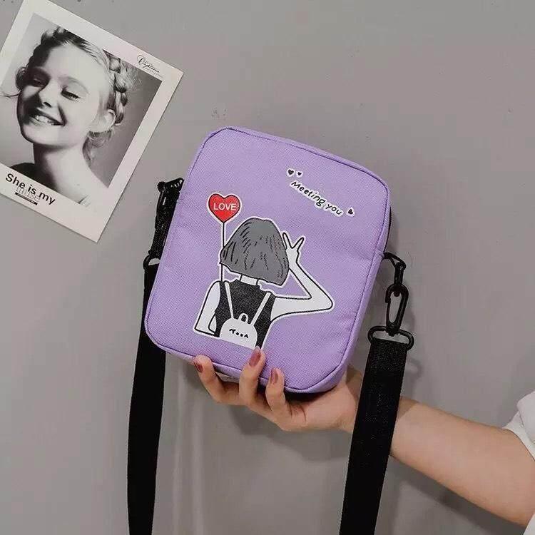 กระเป๋าเป้สะพายหลัง นักเรียน ผู้หญิง วัยรุ่น สุราษฎร์ธานี กระเป๋าสะพายแฟชั่น อินเทรนด์มาใหม่ งานน่ารัก