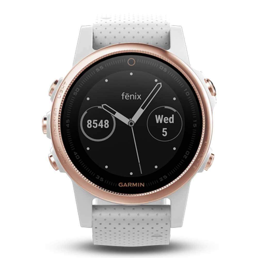 ปราจีนบุรี Garmin Fēnix 5S GM-010-01685-48 Smart Digital White Silicone Unisex Smartwatch