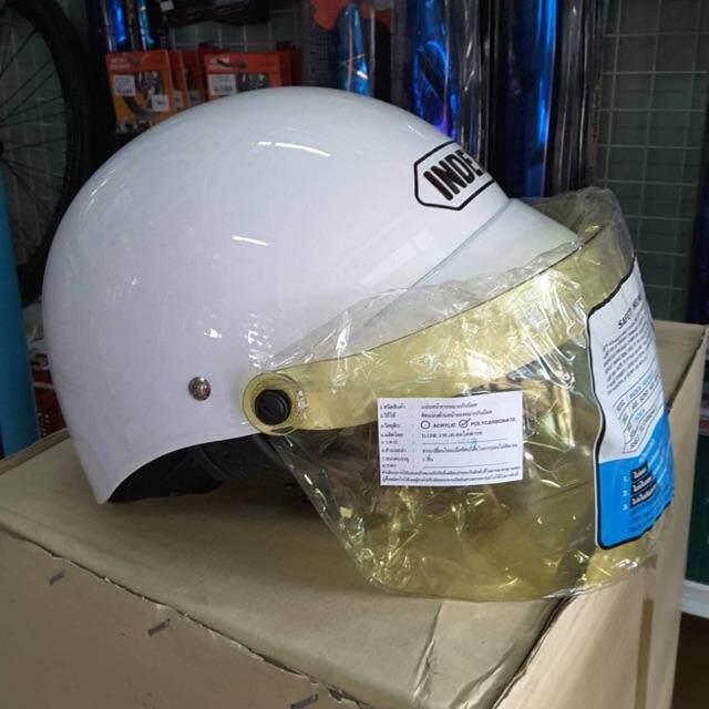 สุดยอดสินค้า!! หมวกกันน็อคครึ่งใบ Index lady หลากสี{ใช้โค้ดลดค่าส่งkerry} โปรโมชั่น ราคาถูก
