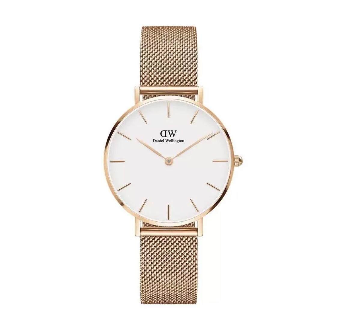 นาฬิกาผู้หญิงDW Classic Petite Melrose White 32mm