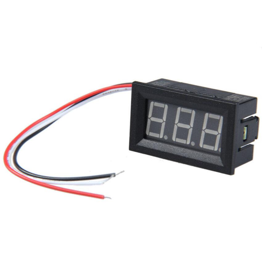 0.56 inch LCD Blue Light DC 0-100V Panel Meter DC Digital Voltmeter