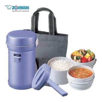 ปิ่นโตอาหารสุญญากาศเก็บความร้อน 0.84 ลิตร รุ่น SL-NC09 AA - สีม่วง