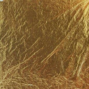 ทองคำเปลวแท้ 100% ตราช้าง ขนาด 40x40 มม.(50 แผ่น)