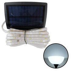 ไฟกระพริบโซล่าเซลล์ 100 CHIP SMD LED (3 ฟังก์ชั่น) เเสง : ขาว