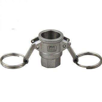 1/2'' FPT Type D Adapter Camlock Fitting Stainless Steel 304