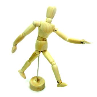 อยากขาย หุ่นไม้ หุ่นไม้จำลอง หุ่นไม้ฝึกวาดรูป ขนาด 14cm