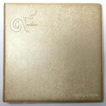 สมุดสะสมธนบัตร 16 ธนบัตร + 2ฉบับใหญ่ เพิ่มไส้ได้แถมซองแก้วธนบัตร (สีทอง)
