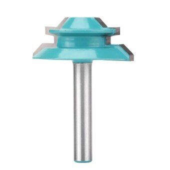 1pc Woodworking Reversible Rail & Stile Cemented Carbide RouterBit 1-1/2