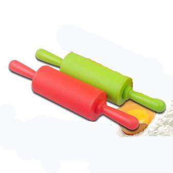 22CM Non-Stick Rolling Pin Silicone Bakeware - intl