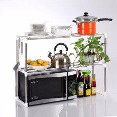 เฟอร์นิเจอร์ห้องครัว ชั้นวางของในครัว ชั้นวางของ ชั้นเอนกประสงค์ ชั้นขนาด 25กx50-85ยx60ส (ซม)