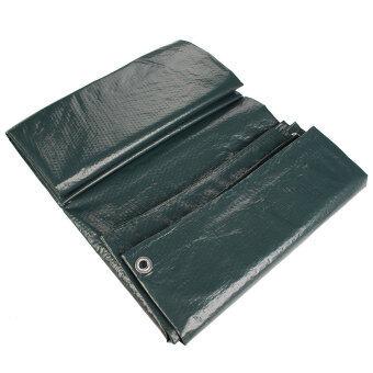 รีวิวพันทิป ผ้าใบกันน้ำผ้าเต็นท์คลุมพื้นเบาเขียวเข้ม 3.5แผ่น x 5.4แผ่น