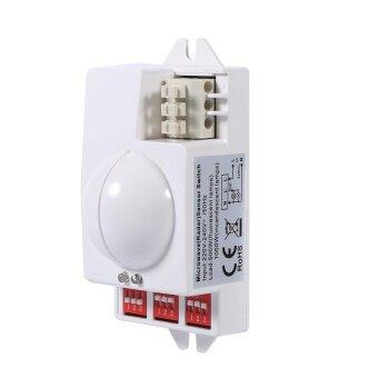 360° 500W Microwave Smart Motion Sensor Light Radar Switch Ceiling Recessed Wall Garage Control - intl - 3
