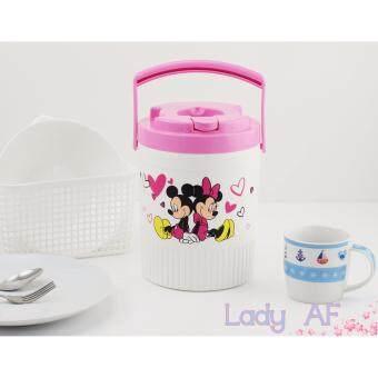สนใจซื้อ 3L. Mickey and Minnie Mini Cooler กระติกน้ำหูหิ้ว ขนาด 3 ลิตร ลายมิกกี้ และ มินนี่ 001