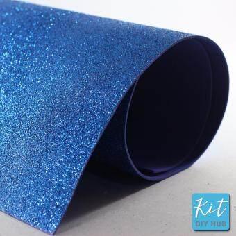 โฟมยางกากเพชร 50x70 ซม. สีน้ำเงิน