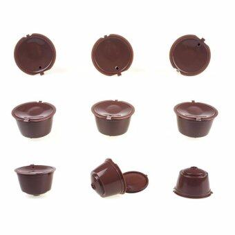 5pcs/pack use 250 times Refillable Dolce Gusto coffee Capsulenescafe dolce gusto reusable capsule dolce gusto capsules - intl - 2