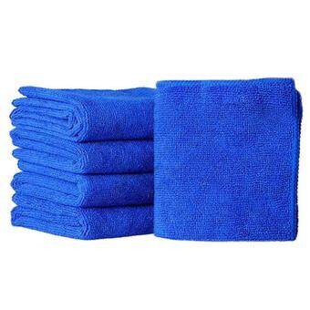 5x Absorbent Microfiber Towel Car Home Kitchen Washing CleaningClean Wash Cloth - intl - 4