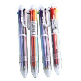 อยากขาย สเตชันเนอรีของขวัญ 6 สีใน 1 ปากกาหลายสีหลากสีนัก