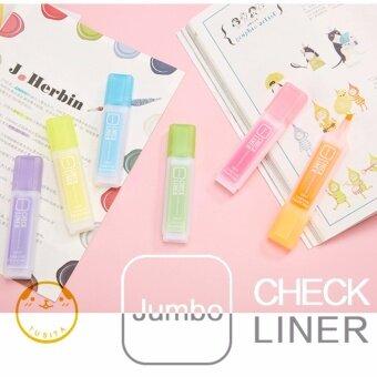 ปากกาเน้นข้อความ 6 สี/1เซ็ต AIHAO highlighter