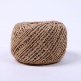 6 PCS 30 Meters 3Ply Natural Arts Crafts Jute Rope Durable PackingString for Gardening Applications(6pcs x 30 Meters) - intl - 4