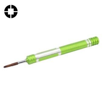 608-2.5 Hollow Cross Tip 2.5 Middle Bezel Repair Screwdriver(Green) - intl