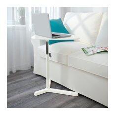 โต๊ะวางแล็ปท็อป, ขาว ขนาด 60x50 ซม.(Me time)