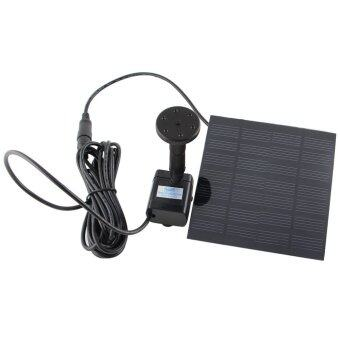 6V 0.8W 150L/H Solar Power Floating Water Pump Fountain Submersible\nPump for Pool Garden Plants (Black)