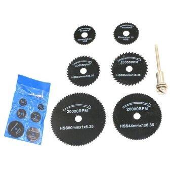 7 Pcs/ Set 3.2mm HSS Circular Saw Blade Cutting Disc Cut-Off WheelFor ...
