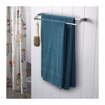 ผ้าเช็ดตัว เขียว-น้ำเงิน ขนาด 70x140 ซม.