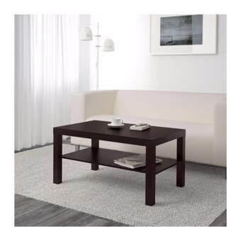 ต้องการขาย โต๊ะกลาง น้ำตาลดำ ขนาด 90x55 ซม.