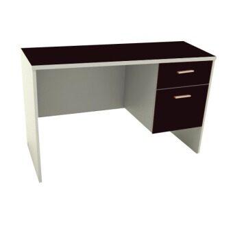 โปรโมชั่นพิเศษ ADHOME โต๊ะทำงาน หน้าท็อป PVC ขนาด 120 ซม. รุ่น Work-120 (สีโอ๊ค)