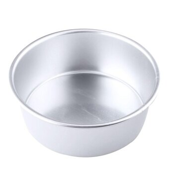 ADS Durable Bake Tools 6\ Alloy Removable Bottom Round Cake Baking Mould Pan Tin Mold Bakeware Tray - intl