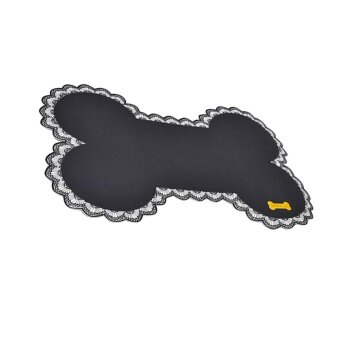 ADS Durable Exquisite Pet Dog Cat Practical Placemat Dish Bowl Feeding Water Food Mat Puppy Wipe Clean - intl