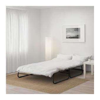 โซฟาเบด AG สีเทาเข้ม ดำ โซฟาปรับเป็นเตียงนอนได้ พร้อมที่นอน