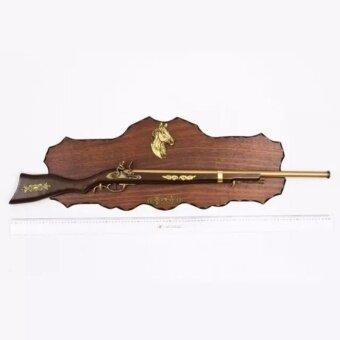 Antique gun replica for walll decoration (newly made) ปืนของเล่นจำลอง สำหรับ ตกแต่งบ้าน