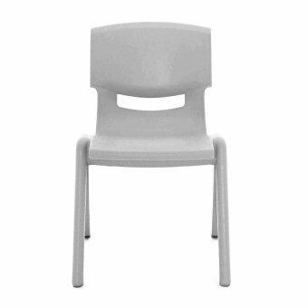 Apex เก้าอี้พลาสติกอเนกประสงค์ รุ่น YCX-007 XL (สีเทาอ่อน)