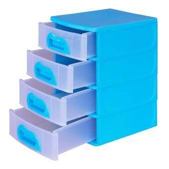 API เอพีไอ กล่องเก็บของขนาดเล็ก Mini Box - สีฟ้า