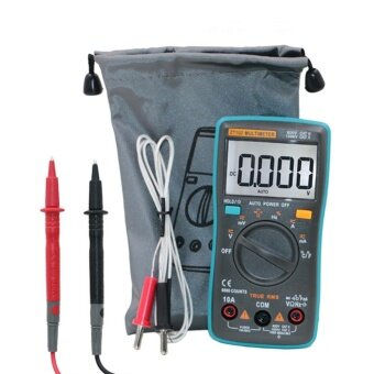 Auto Ranging Digital Multimeter Non Contact Voltage Multi Meterwith LCD Backlight 6000 Counts TRMS Portable MultitesterOHM/Hz/Temp/Duty Cycle AC/DC Measuring Tester by LuckyG - intl - 3