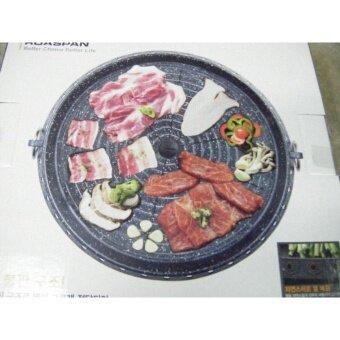กระทะอลูมิเนียม BBQแบบกลม NON STICK MARBLE 32 ซม. KOVEA แท้